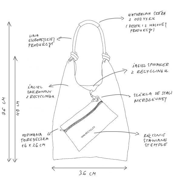 Seashopper torebka handbag