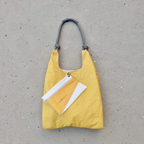 żółta torebka seashopper torebka damska z żagli