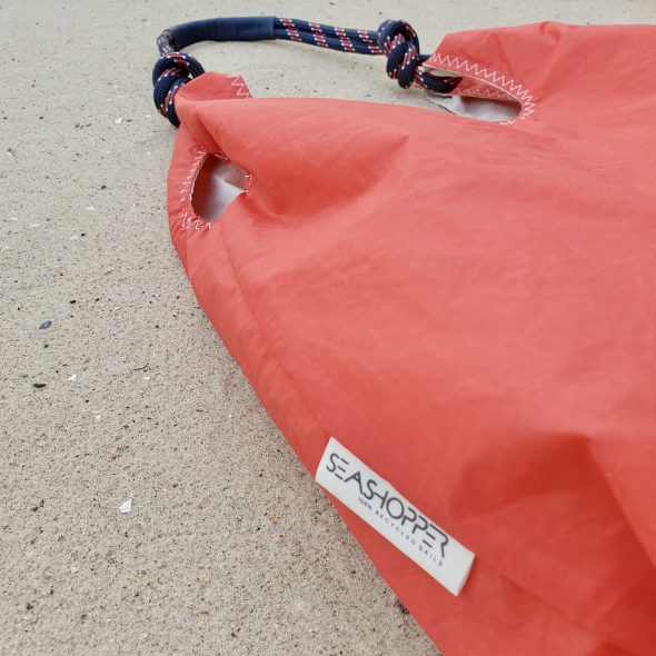 czerwona torebka seashopper damska torebka z żagli