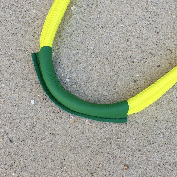 żółto - zielona torebka seashopper torebka damska z żagli