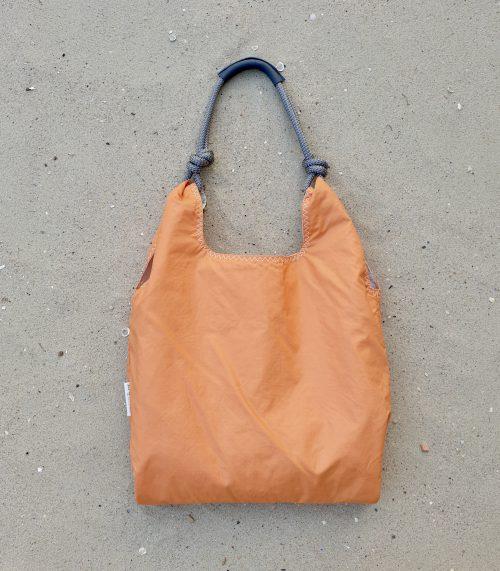 pomarańczowa torebka seashopper damska torba z żagli torebka plażowa