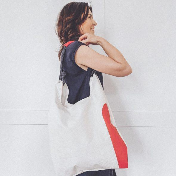 biała torebka seashopper damska torba z żagli