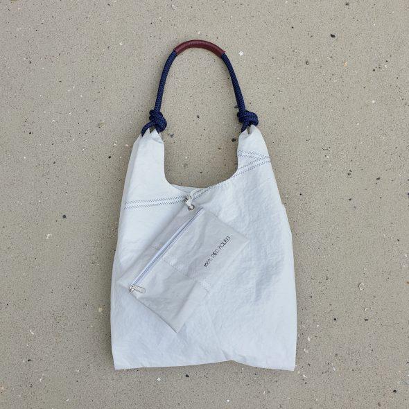 żeglarska torebka seashopper torebka z żagli torba z żagli